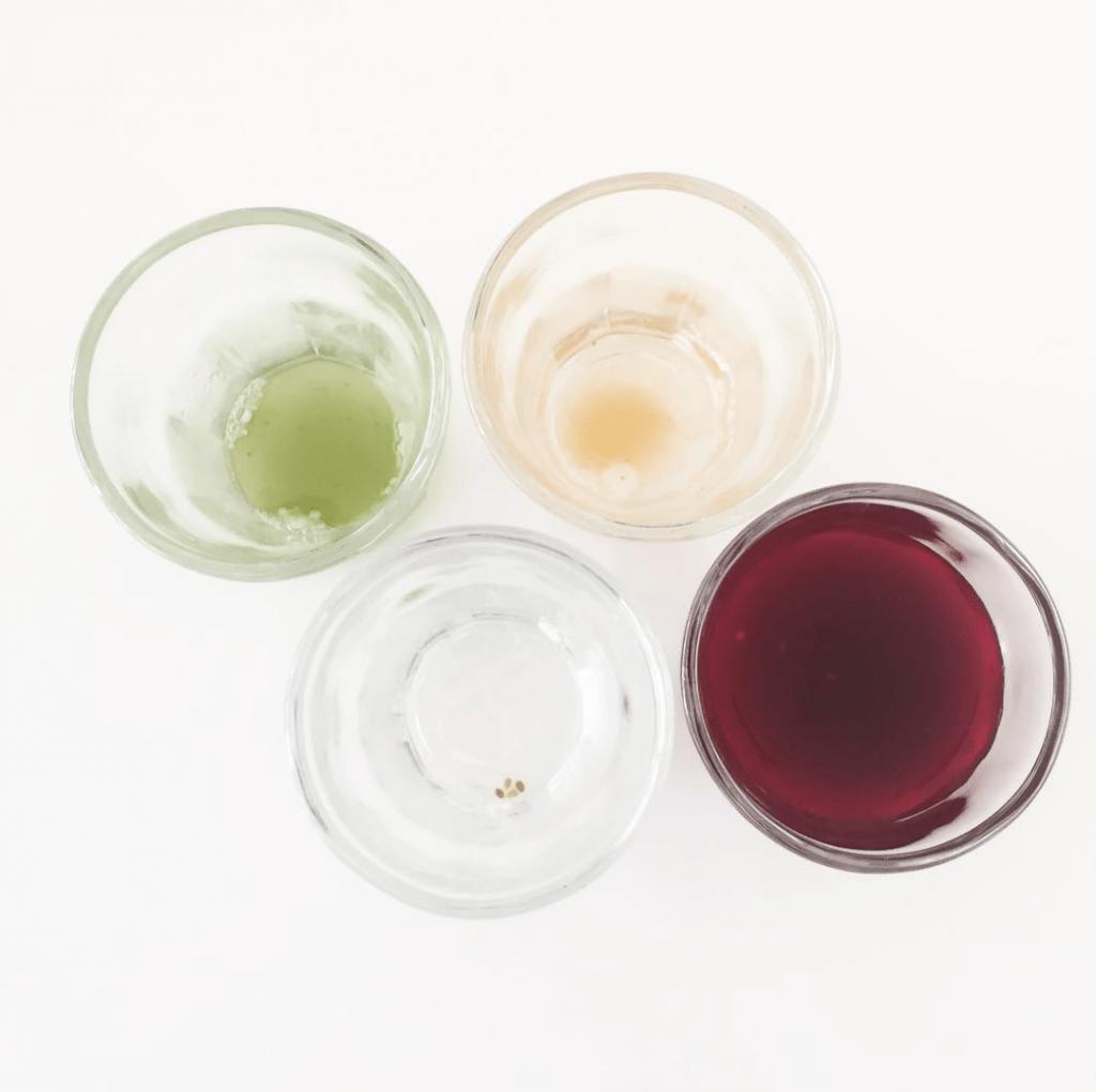 Delicious juicy juice shots pre-cryo sesh