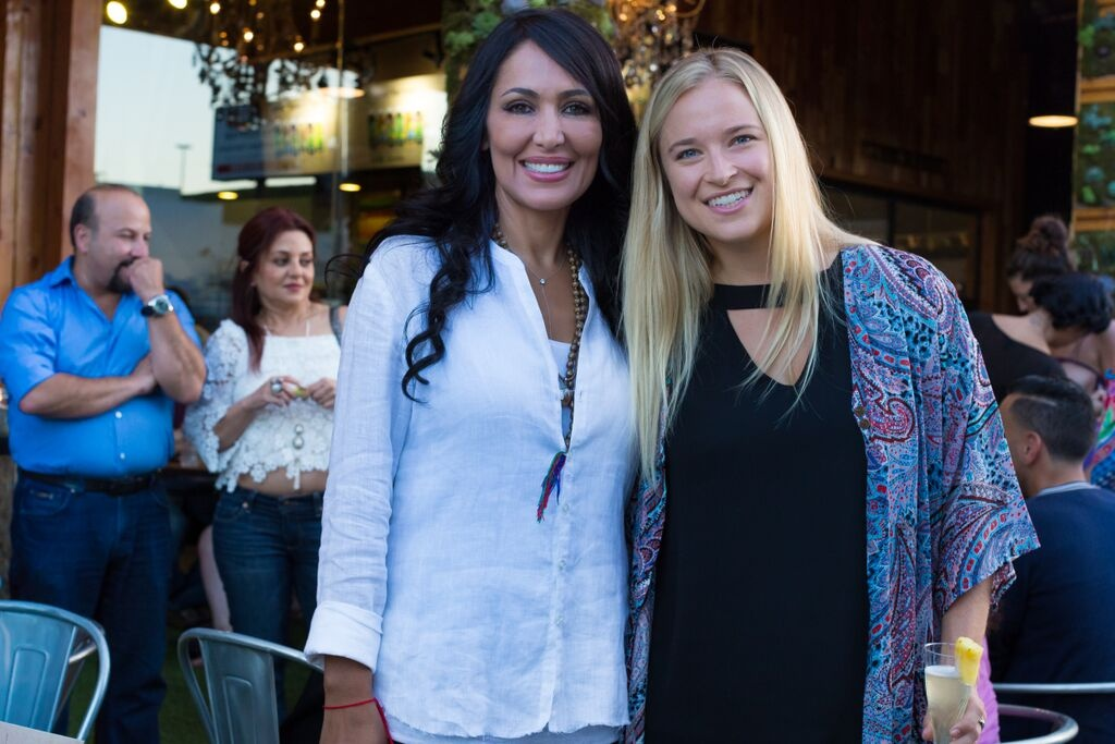 Hangin' with the beautiful owner of Kreation, Marjan Sarshar