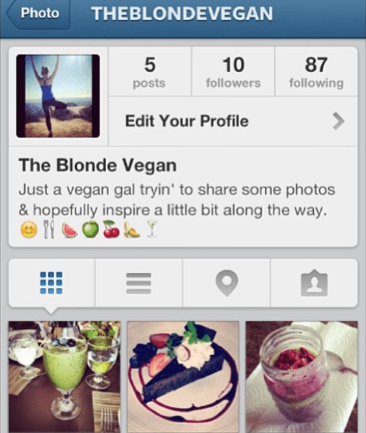 The Art of the Instagram Bio // | The Balanced Blonde