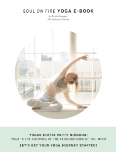 Soul On Fire Yoga E-Book The Balanced Blonde
